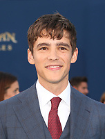 "HOLLYWOOD, CA - May 18: Brenton Thwaites, At Premiere Of Disney's ""Pirates Of The Caribbean: Dead Men Tell No Tales"" At Dolby Theatre In California on May 18, 2017. Credit: FS/MediaPunch"