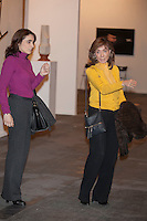 Paloma Segrelles and her daughter Paloma Arenaza visit ARCO Contemporary Art Fair inauguration in Madrid, Spain. February 26, 2015. (ALTERPHOTOS/Victor Blanco) /NORTEphoto.com
