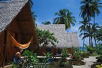 THA, Thailand, Insel Ko Pha Ngan, Starhut Bungalows am Thong Nai Pan Noi Strand | THA, Thailand, island Ko Pha Ngan, Starhut bungalows at Thong Nai Pan Noi beach