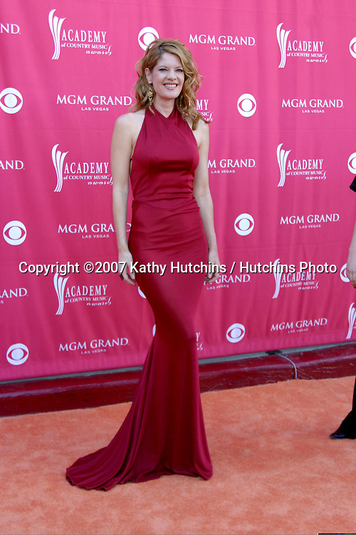Michelle Stafford.Academy  of Country Music Awards.MGM Grand Garden Arena.Las Vegas, NV.May 15, 2007.©2007 Kathy Hutchins / Hutchins Photo....