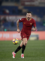 Calcio, Serie A: AS Roma - Sampdoria, Roma, stadio Olimpico, 28 gennaio 2018. <br /> Roma's Aleksandar Kolarov in action during the Italian Serie A football match between AS Roma and Sampdoria at Rome's Olympic stadium, January 28, 2018.<br /> UPDATE IMAGES PRESS/Isabella Bonotto