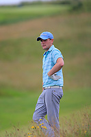 Robert Brazil (Naas) during quarter final at the North of Ireland Amateur Championship, Portstewart Golf Club, Portstewart, Antrim,  Ireland. 11/07/2019<br /> Picture: Golffile | Fran Caffrey<br /> <br /> <br /> All photo usage must carry mandatory copyright credit (© Golffile | Fran Caffrey)