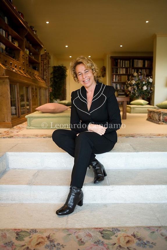 Rome, Italy, 2007. Stefania Craxi, Italian PDL political party Deputy