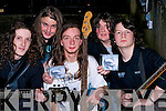 "CD: Sever The Nerve young rock band who launched their CD "" Irralional String Theo"" in the KDYS Denny Street, Tralee on Friday night were:  Gary Murphy, Zac Buggy, Luke Lacey, Eoin Murphy and Glen Dunleavey..................."