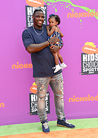 Malik Jackson &amp; Nahla Jackson at Nickelodeon's Kids' Choice Sports 2017 at UCLA's Pauley Pavilion. Los Angeles, USA 13 July  2017<br /> Picture: Paul Smith/Featureflash/SilverHub 0208 004 5359 sales@silverhubmedia.com