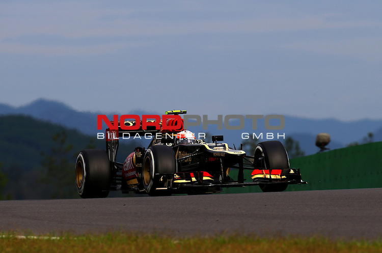 Romain Grosjean (FRA) Lotus Renault F1 Team <br /> for Austria &amp; Germany Media usage only!<br />  Foto &copy; nph / Mathis