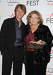 HOLLYWOOD, CA - NOVEMBER 01: Guy Hector and Brenda Vaccaro arrive at the opening night gala premiere of 'Hitchcock' during the 2012 AFI FEST at Grauman's Chinese Theatre on November 1, 2012 in Hollywood, California.