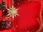 Beautiful Christmas decoration artistic still life background