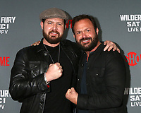 "LOS ANGELES - DEC 1:  AJ Buckley, Judd Lormand at the Heavyweight Championship Of The World ""Wilder vs. Fury"" - Arrivals at the Staples Center on December 1, 2018 in Los Angeles, CA"