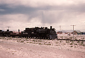 D&amp;RGW #487 with freight approaching Antonito.<br /> D&amp;RGW  Antonito, CO