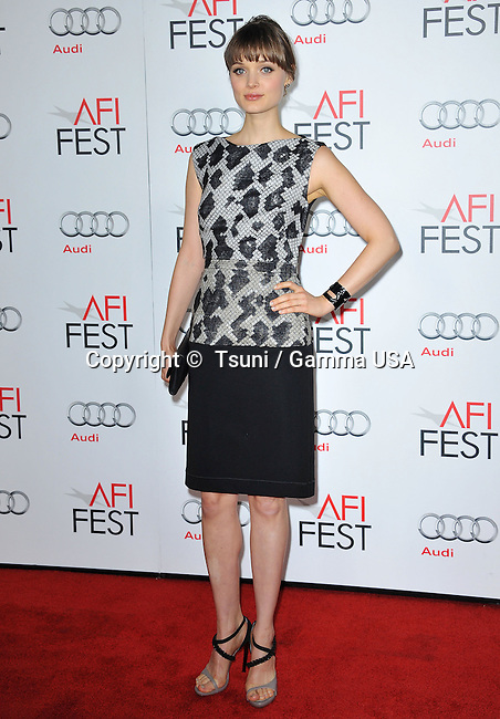 Bella Heathcote  the AFI 2nd Night at the Chinese Theatre in Los Angeles.
