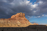 Storm clouds over Assembly Hall Peak in the Mexican Mountain Wilderness Study Area on the San Rafael Swell in Utah.