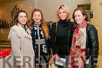 Fashion Show: Attending the 12th annual fashion show in aid of St. Joseph's Secondary School, Ballybunion held at the Tintean Theatre, Ballybunion on Thursday night last were Mary Stenson, Niamh Murphy, Patricia Duggan & Marina Mulvihill.