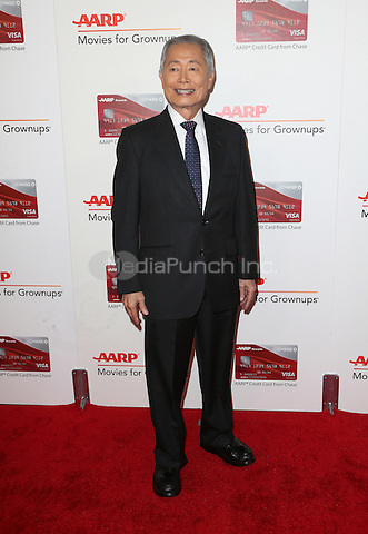 Beverly Hills, CA - FEBRUARY 06: George Takei, At 16th Annual AARP The Magazine's Movies For Grownups Awards, At The Beverly Wilshire Four Seasons Hotel In California on February 06, 2017. Credit: Faye Sadou/MediaPunch
