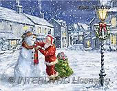 Marcello, CHRISTMAS SANTA, SNOWMAN, WEIHNACHTSMÄNNER, SCHNEEMÄNNER, PAPÁ NOEL, MUÑECOS DE NIEVE, paintings+++++,ITMCXM1418B,#X#