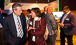 UTRECHT - Nationaal Golf Congres en Beurs 2017. NVG  motto: Like to Play & Love to stay. Jeroen Stevens en Marieke van Rhijn.  FOTO © Koen Suyk