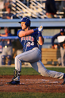 June 18th 2008:  Adam Amar of the Auburn Doubledays, Class-A affiliate of the Toronto Blue Jays, during a game at Dwyer Stadium in Batavia, NY.  Photo by:  Mike Janes/Four Seam Images