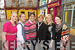 Sharon Heffernan (Harmony Beauty Rooms), Jodi Cahill (Catch of the Day), Brenda Woulfe (Woulfe's Bookshop), Oonagh Stokes (Listowel Travel), Josephine Windle (Keune The Hair Gallery), Christina McKenna (The Hair Gallery).