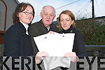 TIME FOR CHANGE: Breda Cahill and Seamus O'Donnell from Partnership Tra Li have teamed up with ITT Lecturer Breda O'Dwyer for an Educational Audit of the Mitchel's area this week.   Copyright Kerry's Eye 2008