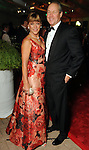 Franci and Jim Crane at the post performance dinner following the Houston Grand Opera's 2010-2011 season opener Friday Oct. 22, 2010. (Dave Rossman/For the Chronicle)