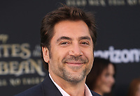 "HOLLYWOOD, CA - May 18: Javier Bardem, At Premiere Of Disney's ""Pirates Of The Caribbean: Dead Men Tell No Tales"" At Dolby Theatre In California on May 18, 2017. Credit: FS/MediaPunch"
