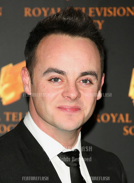 Ant McPartlin arriving for the RTS Awards, at the Grosvenor House Hotel, London. 15/03/2011  Picture By: Alexandra Glen / Featureflash
