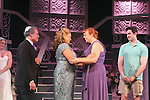 "Guiding Light's Kim Zimmer stars with Kayleen Seidl, Joel Briel, Molly Tower and Kevin Toniazzo-Naughtonl in ""It Shoulda Been You"" - a new musical comedy - at the Gretna Theatre, Mt. Gretna, PA on July 30, 2016. (Photo by Sue Coflin/Max Photos)"