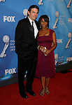 LOS ANGELES, CA. - February 12: Actress Alfre Woodard with husband Roderick Spencer arrive at the 40th NAACP Image Awards at the Shrine Auditorium on February 12, 2009 in Los Angeles, California.