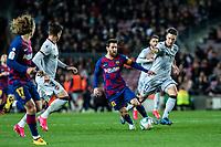 2nd February 2020; Camp Nou, Barcelona, Catalonia, Spain; La Liga Football, Barcelona versus Levante; Lionel Messi of FC Barcelona