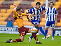 :: ALEXEI EREMENKO GETS AWAY FROM MOTHERWELL'S TOM HATELEY   ::.11/05/2011 sct_jsp005_motherwell_v_kilmarnock     .Copyright  Pic : James Stewart.James Stewart Photography 19 Carronlea Drive, Falkirk. FK2 8DN      Vat Reg No. 607 6932 25.Telephone      : +44 (0)1324 570291 .Mobile              : +44 (0)7721 416997.E-mail  :  jim@jspa.co.uk.If you require further information then contact Jim Stewart on any of the numbers above.........