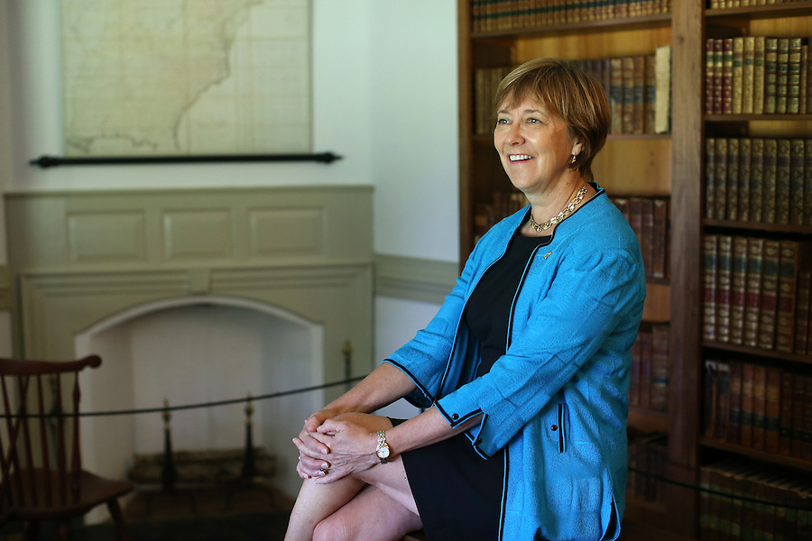 U.Va. alumni Kat Imhoff is president of the Montpelier Foundation at former president James Madison's Montpelier Estate in Orange, Va. Photo/Andrew Shurtleff
