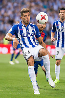 Deportivo Alaves's defender Zouhair Feddal during Copa del Rey (King's Cup) Final between Deportivo Alaves and FC Barcelona at Vicente Calderon Stadium in Madrid, May 27, 2017. Spain.<br /> (ALTERPHOTOS/BorjaB.Hojas) /NortePhoto.com