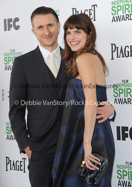 Lake Bell and husband<br />  attends The 2014 Film Independent Spirit Awards held at Santa Monica Beach in Santa Monica, California on March 01,2014                                                                               © 2014 Hollywood Press Agency