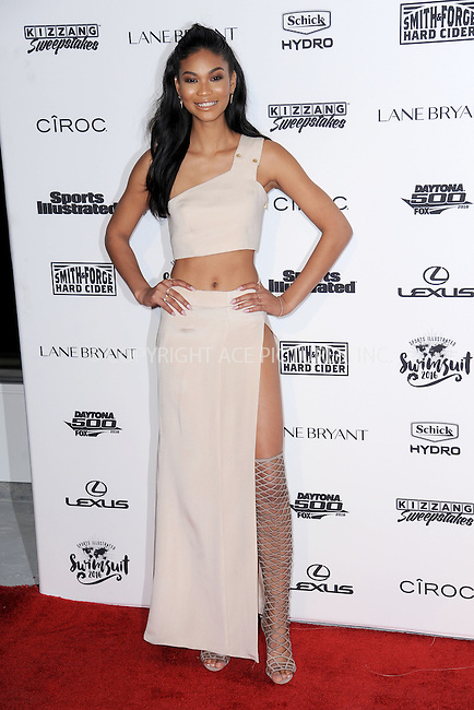 WWW.ACEPIXS.COM<br /> February 16, 2016 New York City<br /> <br /> Chanel Iman attending the 2016 Sports Illustrated Swimsuit Launch Celebration at Brookfield Place on February 16, 2016 in New York City.<br /> <br /> Credit: Kristin Callahan/ACE Pictures<br /> Tel: (646) 769 0430<br /> e-mail: info@acepixs.com<br /> web: http://www.acepixs.com