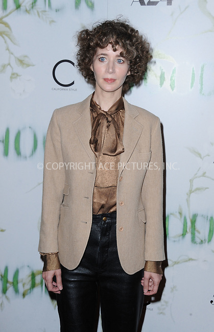 www.acepixs.com<br /> <br /> September 18 2017, LA<br /> <br /> Miranda July arriving at the premiere of 'Woodshock' at the ArcLight Cinemas on September 18, 2017 in Hollywood, California<br /> <br /> By Line: Peter West/ACE Pictures<br /> <br /> <br /> ACE Pictures Inc<br /> Tel: 6467670430<br /> Email: info@acepixs.com<br /> www.acepixs.com