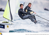 47 Trofeo Princesa Sofia IBEROSTAR, bay of Palma, Mallorca, Spain, takes<br /> place from 25th March to 2nd April 2016. Qualifier event for the Rio 2016<br /> Olympic Games. Almost 800 boats and over 1.000 sailors from to 65 nations<br /> ©Pedro Martinez/Trofeo Sofia