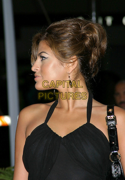 EVA MENDES.31st Annual People's Choice Awards held at the Pasadena Civic Auditorium. .January 9th, 2004.Photo Credit: Jacqui Wong/AdMedia..headshot, portrait, halterneck, profile.www.capitalpictures.com.sales@capitalpictures.com.© Capital Pictures.