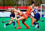 ROTTERDAM - Lieke Hulsen (Ned)   tijdens de Pro League hockeywedstrijd dames, Netherlands v USA (7-1)  .  COPYRIGHT  KOEN SUYK