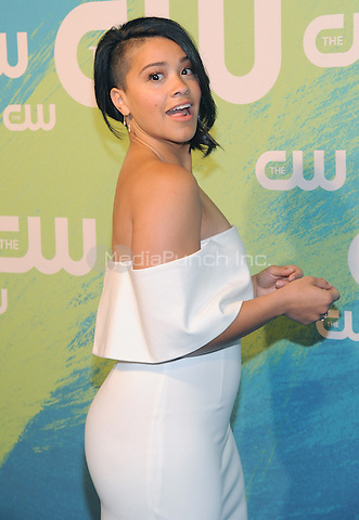 NEW YORK, NY - MAY 19: Gina Rodriguez attends the 2016 CW Upfront presentation at the London Hotel on May 19, 2016 in New York City. Photo Credit: John Palmer/ Media Punch
