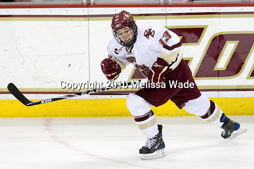 Cam Atkinson (BC - 13) - The Boston College Eagles defeated the Merrimack College Warriors 7-0 on Tuesday, February 23, 2010 at Conte Forum in Chestnut Hill, Massachusetts.