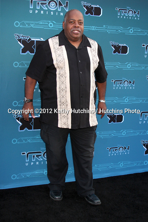 """LOS ANGELES - MAY 12:  Bruce Boxleitner arrives at the Disney XD's """"TRON: Uprising"""" Press Event and Reception at DisneyToon Studios/Disney Television Animation on May 12, 2012 in Glendale, CA"""