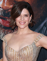 NEW YORK, NY - JULY 10: Neve Campbell at the New York Premiere of Skyscraper at AMC Loews Lincoln Square in New York City on July 10, 2018. <br /> CAP/MPI99<br /> &copy;MPI99/Capital Pictures