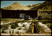 D&amp;RGW #1169 standard gauge engine in Salida. Tenderfoot hill in background.<br /> D&amp;RGW  Salida, CO
