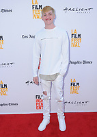 "17 June 2017 - Culver City, California - Jonathon McClendon. LA Film Festival Premiere of ""Shot Caller"" held at ArcLight Culver City in Culver City. Photo Credit: Birdie Thompson/AdMedia"