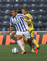 Josh Magennis in the Kilmarnock v St Mirren Scottish Professional Football League Premiership match played at Rugby Park, Kilmarnock on 13.9.14.