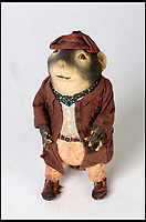 BNPS.co.uk (01202 558833)<br /> Pic:   Dukes/BNPS<br /> <br /> Wind in the Willows character 'Ratty'.<br /> <br /> The original figures from the childhood classic film Wind in the Willows have emerged for sale for £10,000.<br /> <br /> Twenty five figures will go under the hammer including the four main characters, Badger, Toad, Mole and Ratty.<br /> <br /> They were used in the 1983 animation film and subsequent TV show which ran for 52 episodes on ITV from 1984 to 1988.<br /> <br /> The beloved film, in which Chief Weasel was voiced by David Jason, won a BAFTA for 'best children's programme' and an international Emmy.
