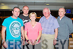 TRACK TIME: Enjoying a great time at the Kingdom Greyhound Stadium Night at the Dogs on Friday l-r: Derek, Aidan, Mary, Paddy and Brian Hobbert, Spa Road, Tralee.