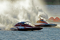 "S-17, Doug Martin,S-33 ""Keen's Sunday Money"" andAl Thompson, S-1 ""Tenacity"".  (2.5 Litre Stock hydroplane(s)"