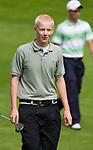 DEN DOLDER - Willem Vork tijdens het NK Strokeplay golf op Golfsocieteit  De Lage Vuursche. COPYRIGHT KOEN SUYK