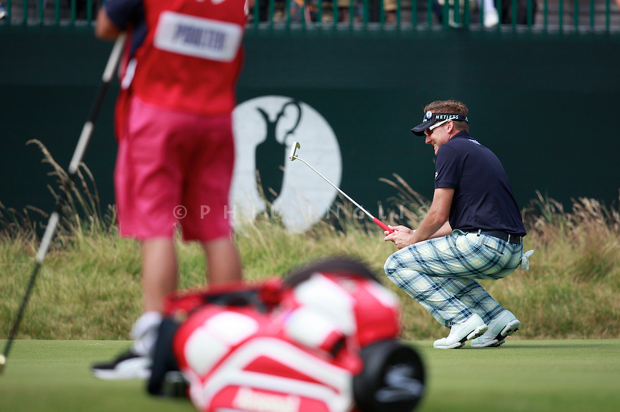 Ian POULTER (ENG) in action during the second round of the 143rd Open Championship played at Royal Liverpool Golf Club, Hoylake, Wirral, England. 17 - 20 July 2014 (Picture Credit / Phil Inglis)